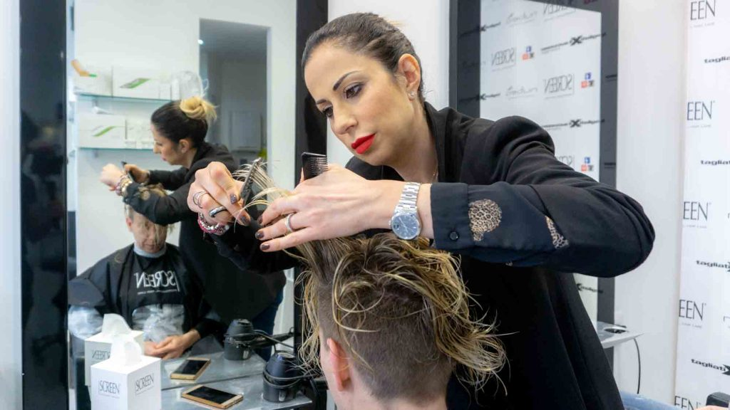 Hairstylist a Roma
