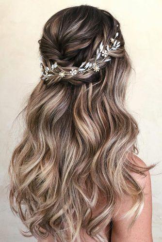 capelli mossi per matrimonio