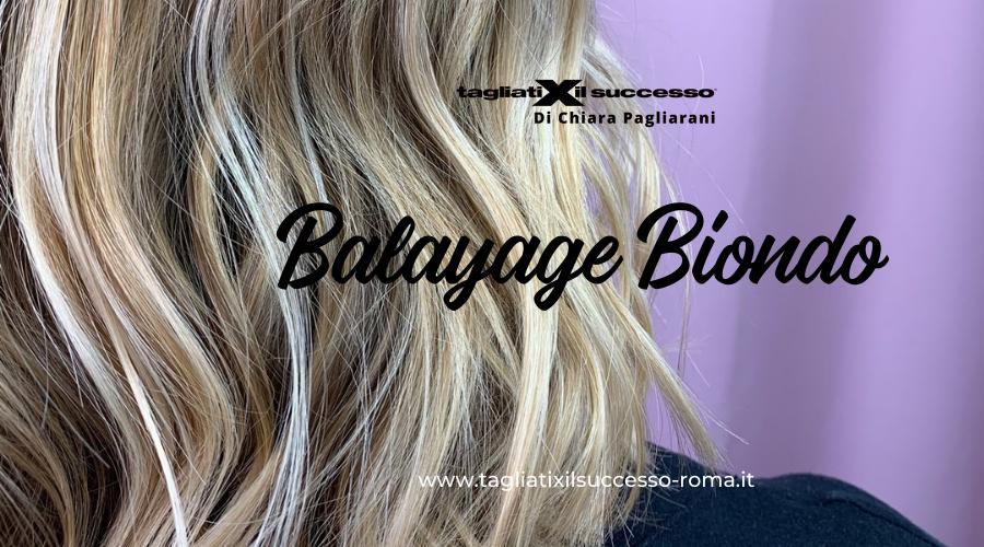 Balayage Biondo: sfumature di sole